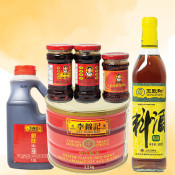 Oil, Salt, Sauce, Vinegar