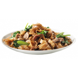 Beef and Rice Noodle Stir Fry