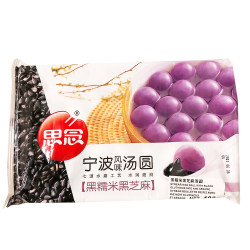 SiNian Synear Rice Ball with Black Glutinous and Sesame -400g