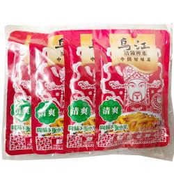 WuJiang Mustard Tuber (Fresh Flavourl) - 4*80g