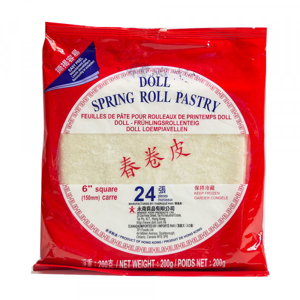 """Spring Roll Pastry 6""""/8.5"""""""