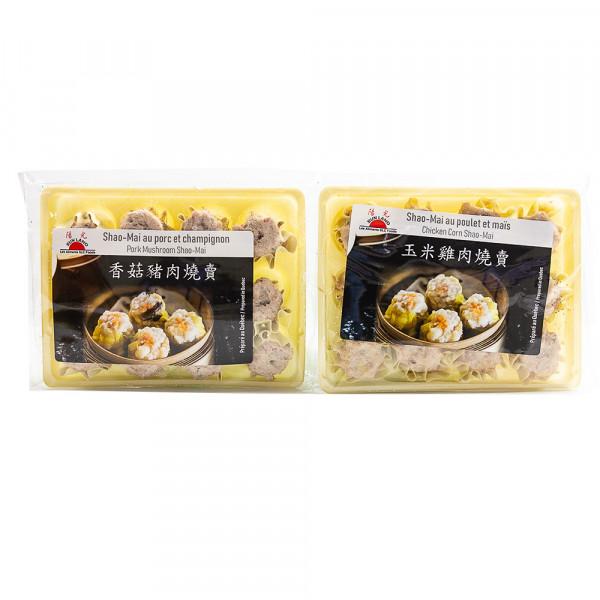 Chicken Corn Shao-Mai / Pork Mushroom Shao-Mai - 300 g