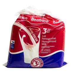 3.25% Beatrice Milk - 4 L