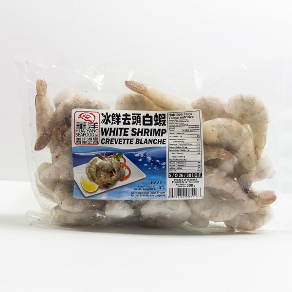 White Shrimps 26/30 - 500 g