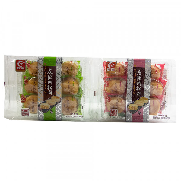 Youchen Meat Floss Cake Series 208g