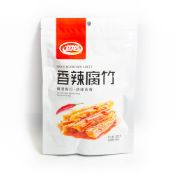 Spicy Bean Curd Sheet - 180 g