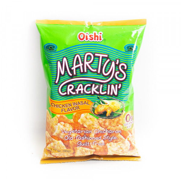 Oishi Marty's Cracklin Chicken Inasal Flavour - 90 g