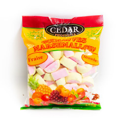 Strawberry Marshmallows - 250 g