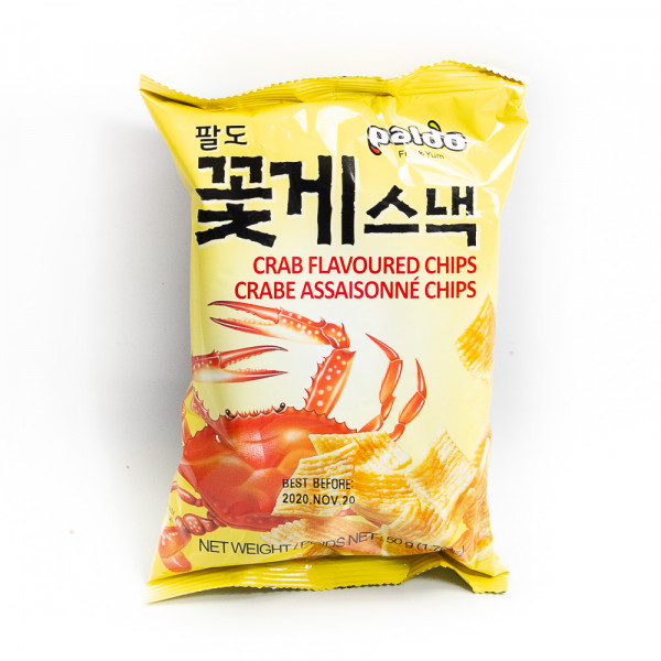 Crab Flavored Chips 50g