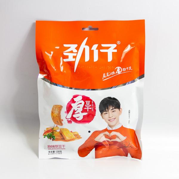Jinzai Dried tofu hot spicy flavor 108g