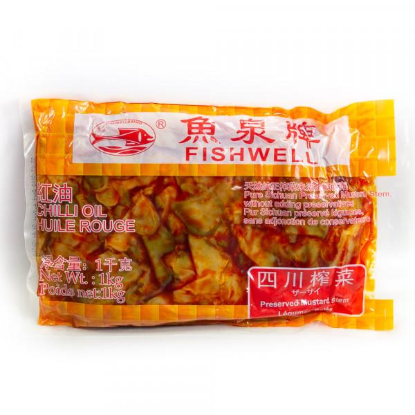 Pure Sichuan Preserved Mustard Stem 1kg