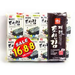 Laver Seasoned Seaweed - 4gX16