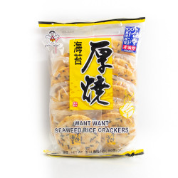 Seaweed Rice Crackers - 160 g