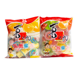 Jelly Assorted Yogurt flavors / Jelly Assorted flavors 360g