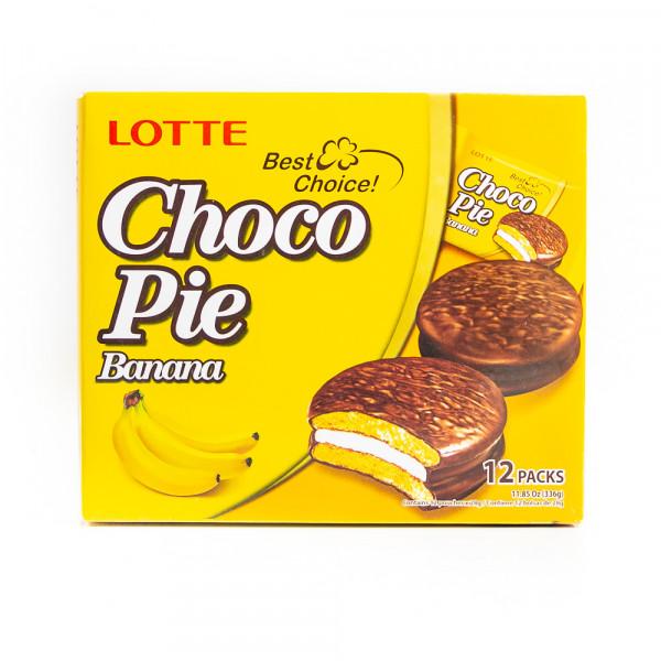 LOTTE Choco-Pie Banana 336g