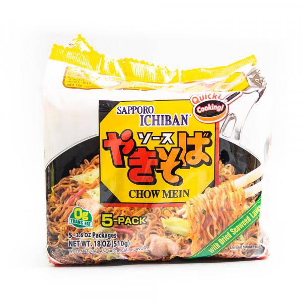 Sapporo Ichibain Japanese Style Noodles (chow mein) - 5*100 g