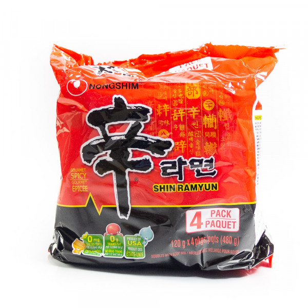 Shin Raymun Spicy Noodles - 480 g